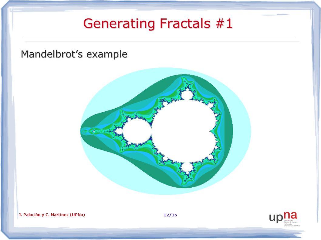 Generating Fractals #1 Mandelbrot's example