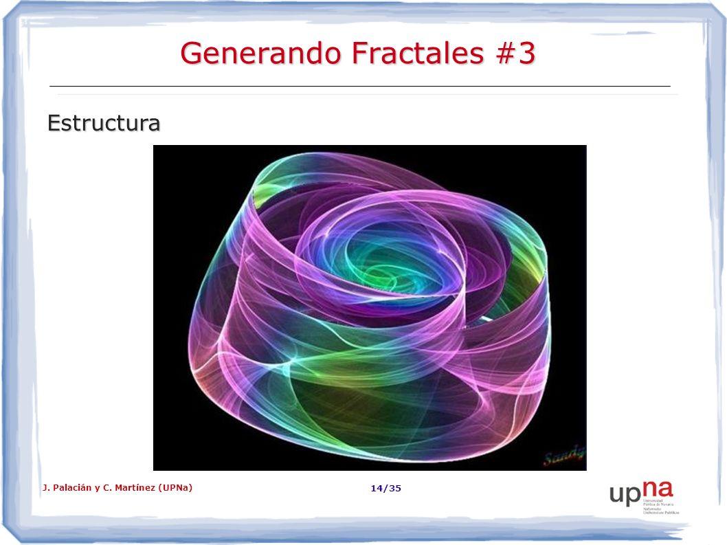Generando Fractales #3 Estructura J. Palacián y C. Martínez (UPNa)