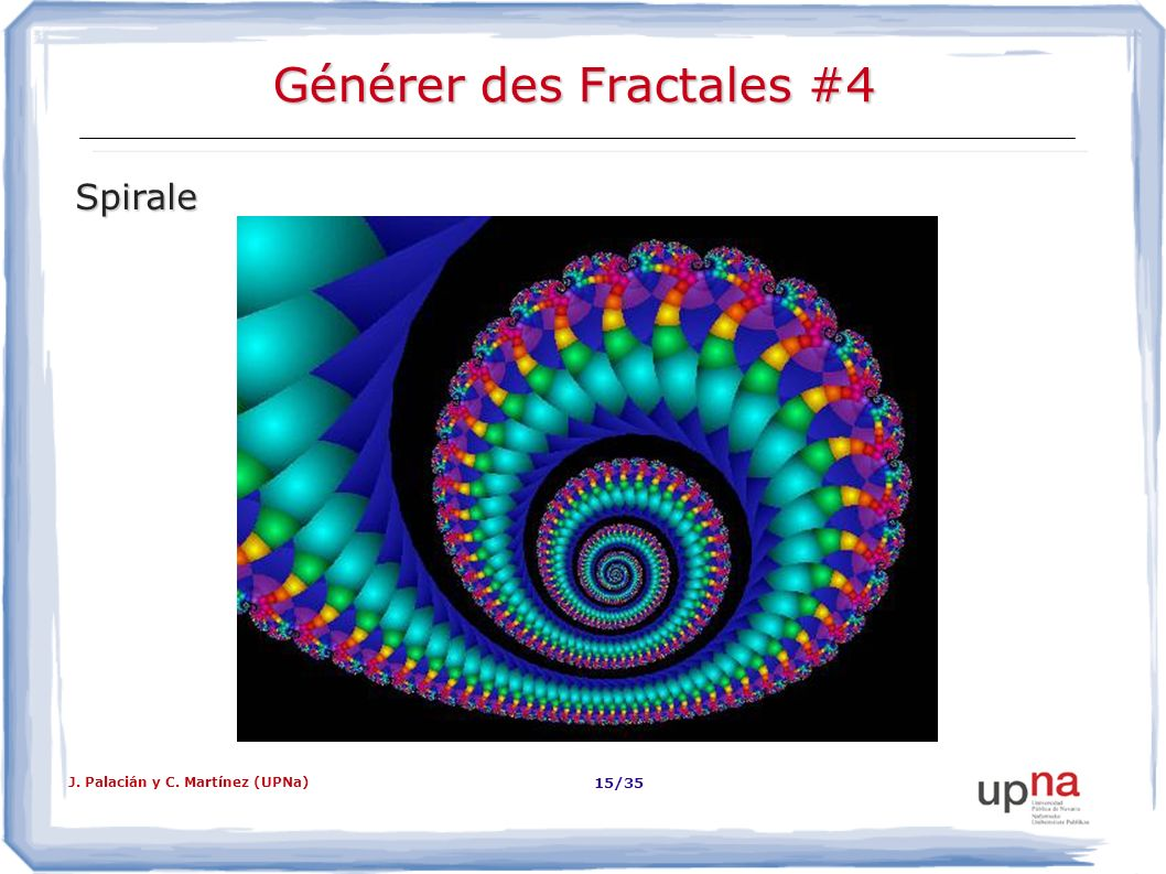 Générer des Fractales #4