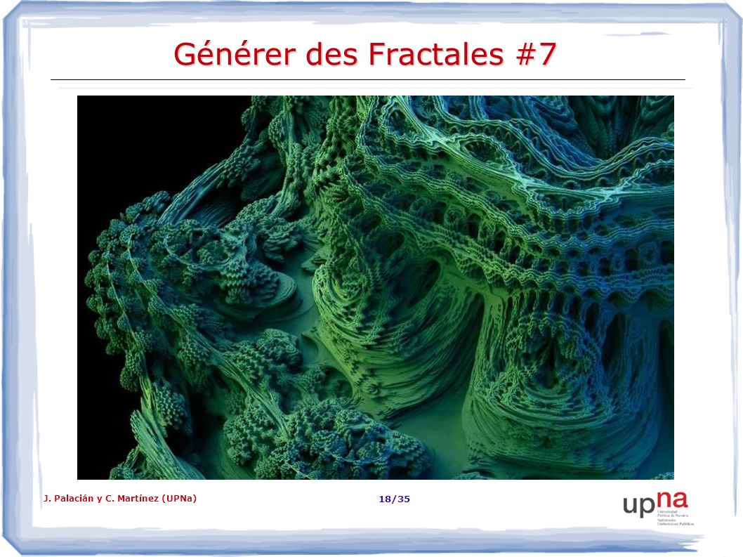 Générer des Fractales #7