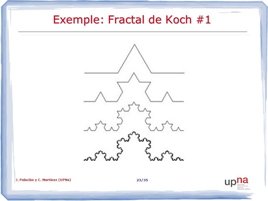 Exemple: Fractal de Koch #1