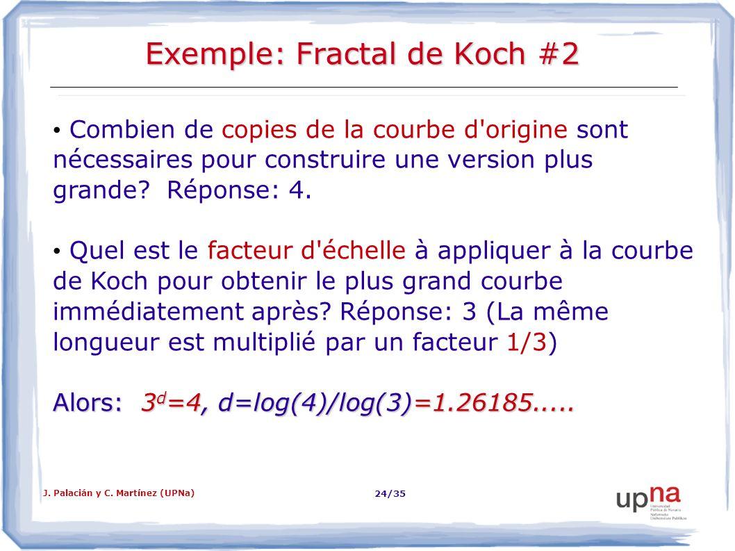 Exemple: Fractal de Koch #2