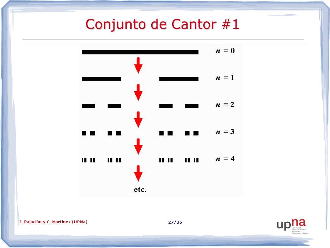 Conjunto de Cantor #1 J. Palacián y C. Martínez (UPNa)