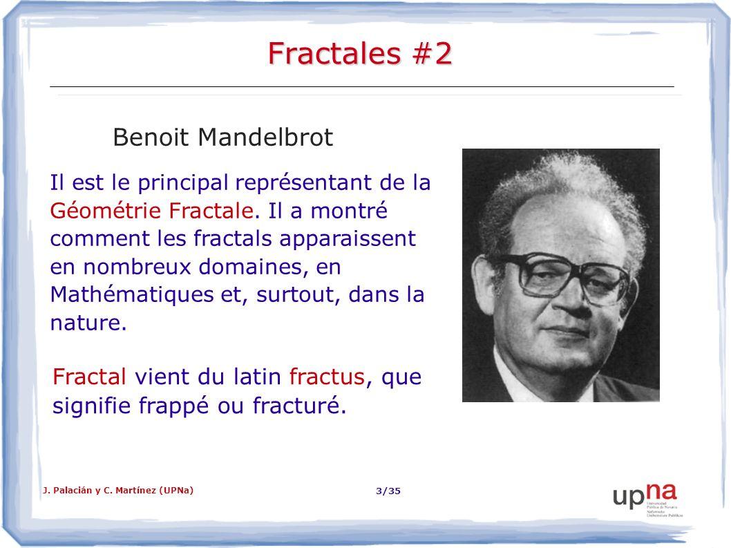 Fractales #2 Benoit Mandelbrot