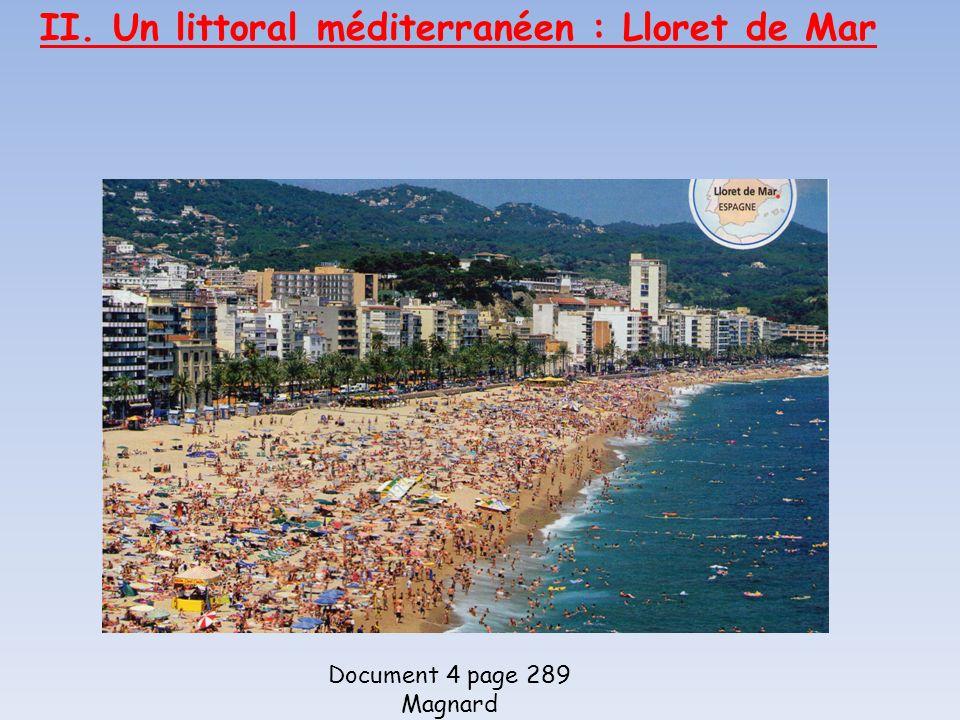 II. Un littoral méditerranéen : Lloret de Mar