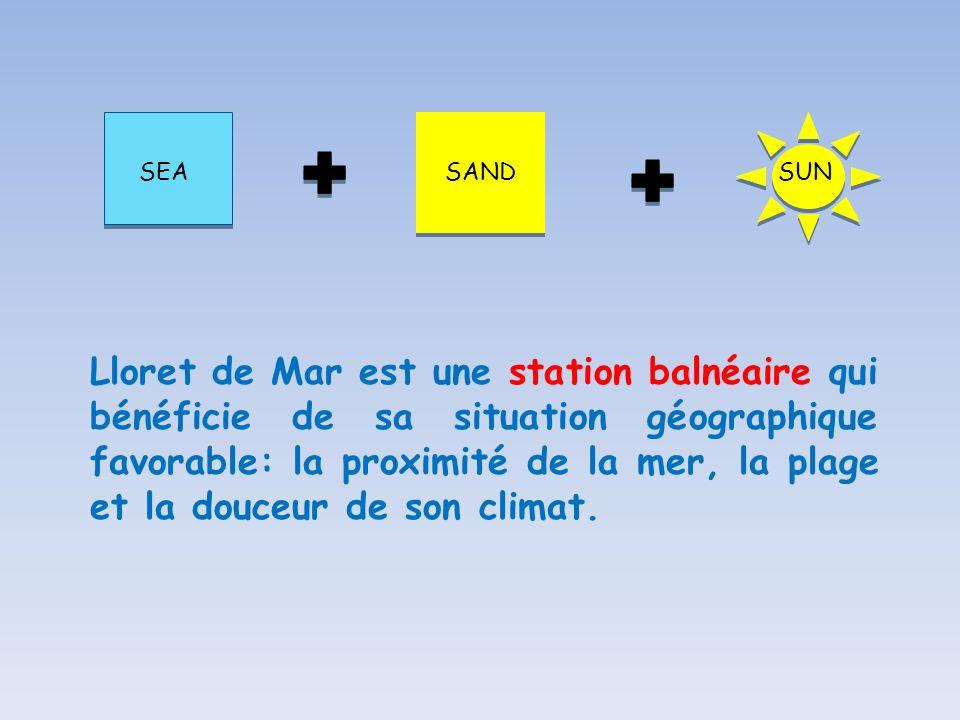 SEA SAND. SUN.