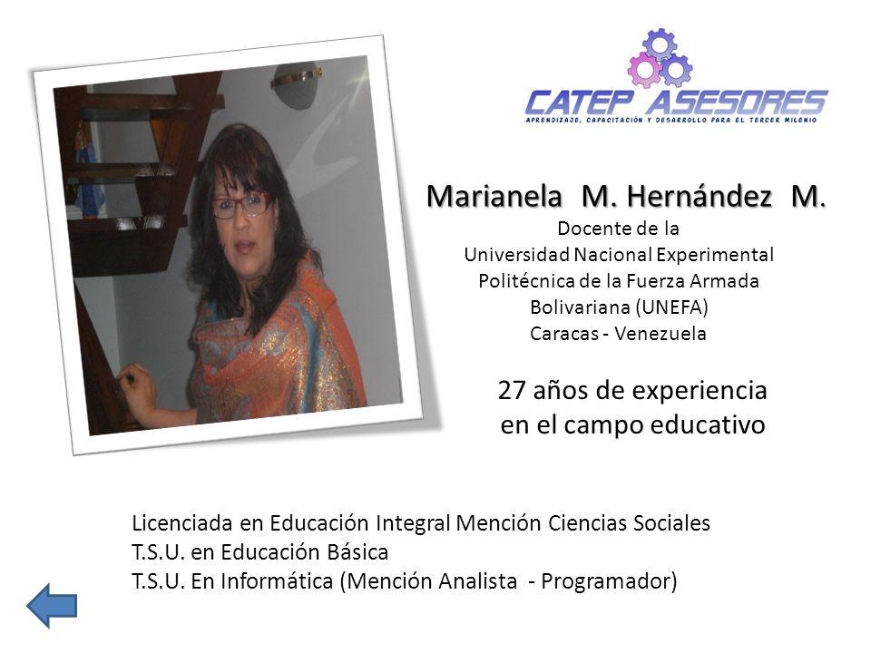 Marianela M. Hernández M.