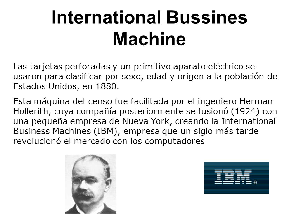 International Bussines Machine