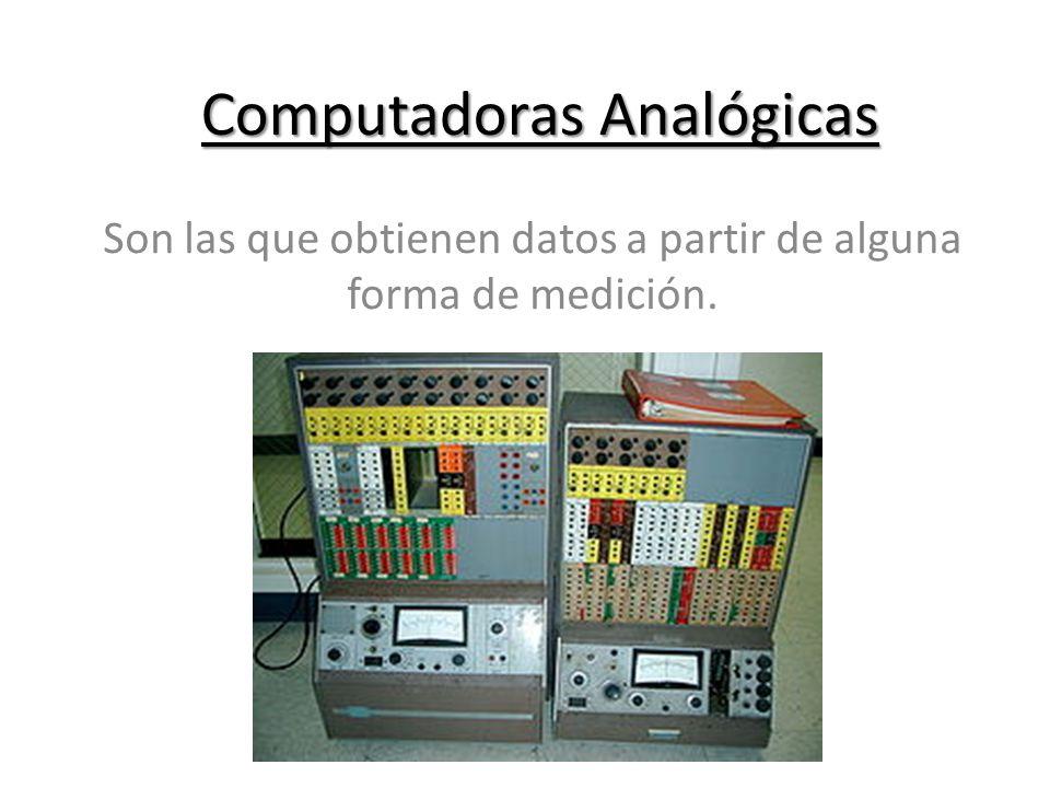 Computadoras Analógicas