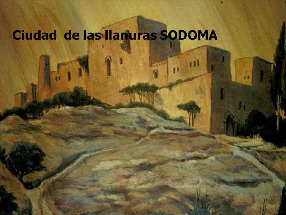 Ciudad de las llanuras SODOMA