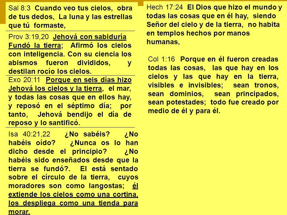 Sal 8:3 Cuando veo tus cielos, obra