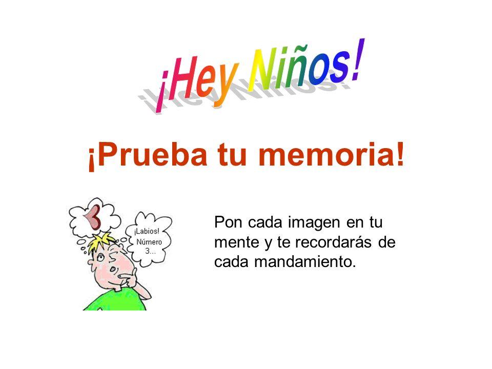 ¡Prueba tu memoria! Apertura ¡Hey Niños!
