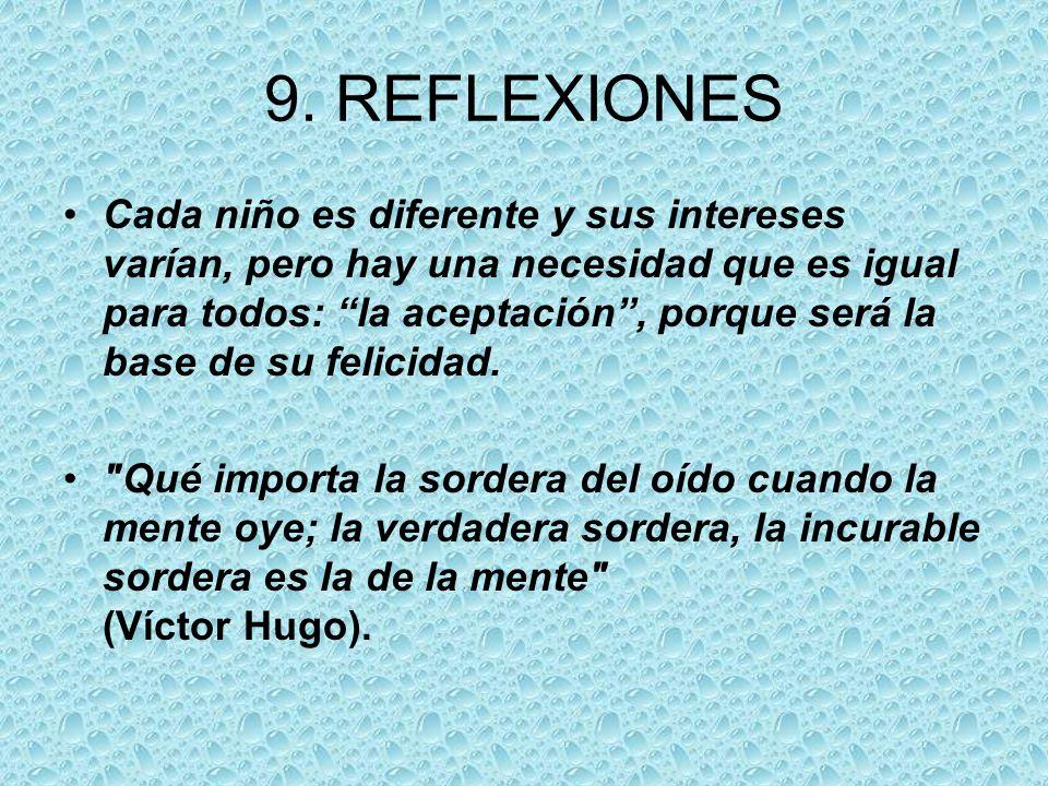 9. REFLEXIONES