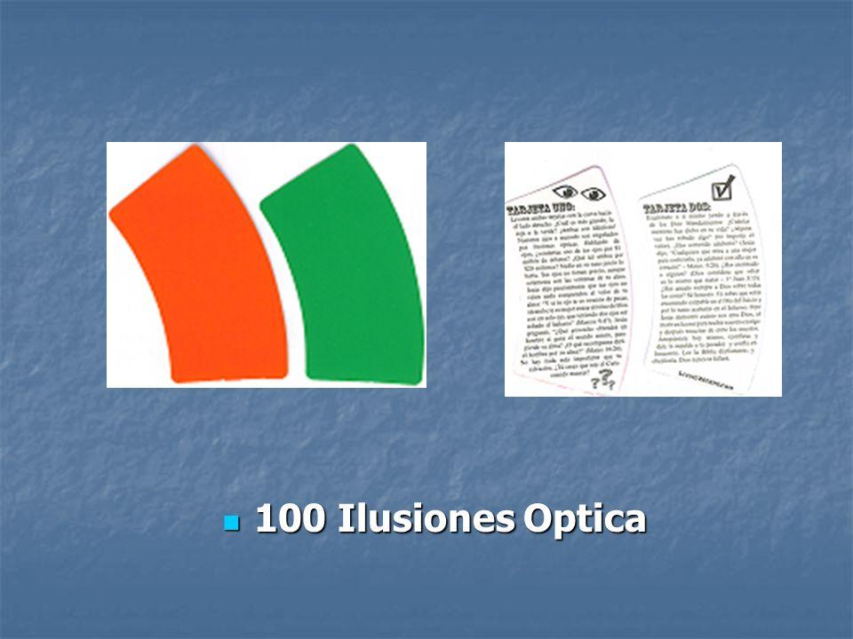 100 Ilusiones Optica