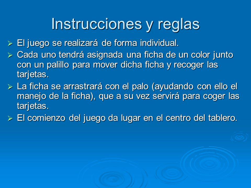 Instrucciones y reglas