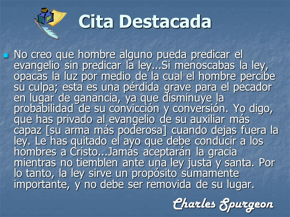 Cita Destacada Charles Spurgeon