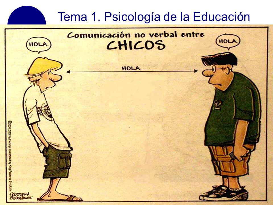 Tema 1. Psicología de la Educación