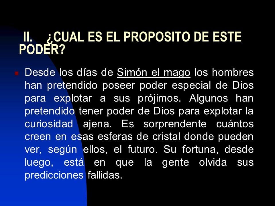 II. ¿CUAL ES EL PROPOSITO DE ESTE PODER