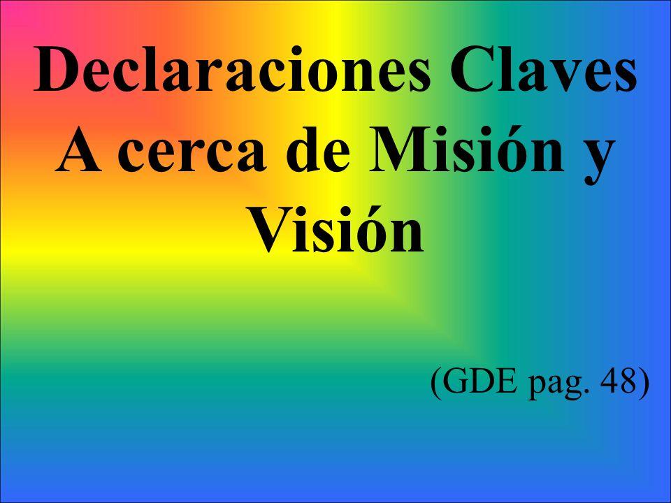 A cerca de Misión y Visión
