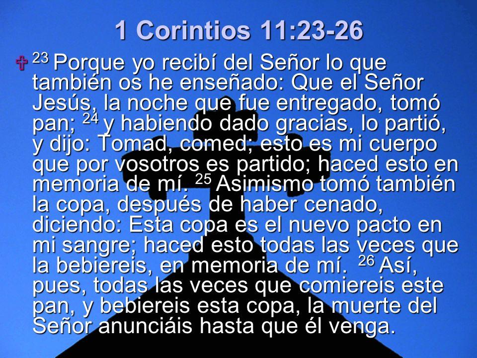 1 Corintios 11:23-26