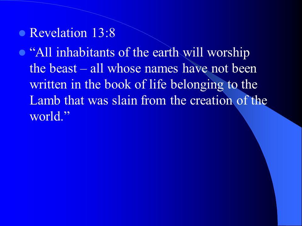 Revelation 13:8
