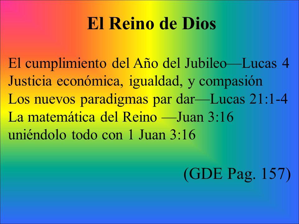 El Reino de Dios (GDE Pag. 157)