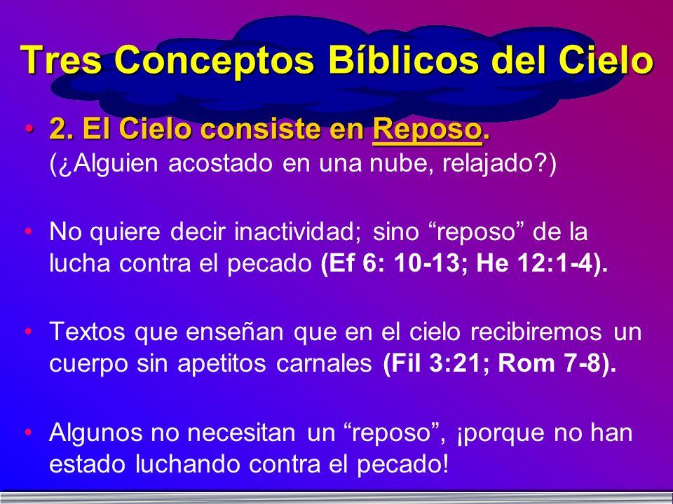 Tres Conceptos Bíblicos del Cielo