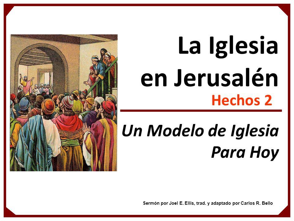 La Iglesia en Jerusalén