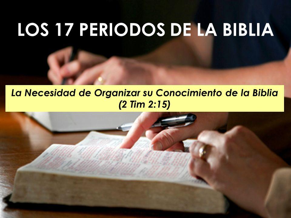 LOS 17 PERIODOS DE LA BIBLIA