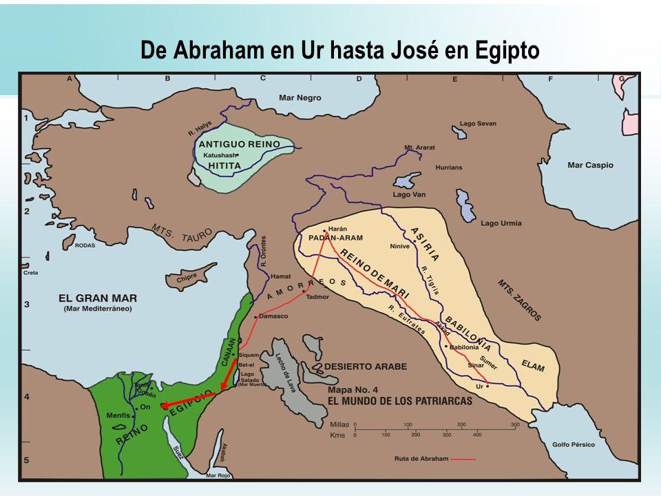 De Abraham en Ur hasta José en Egipto