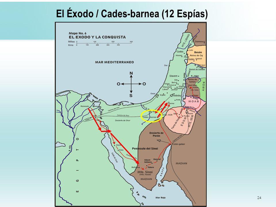 El Éxodo / Cades-barnea (12 Espías)