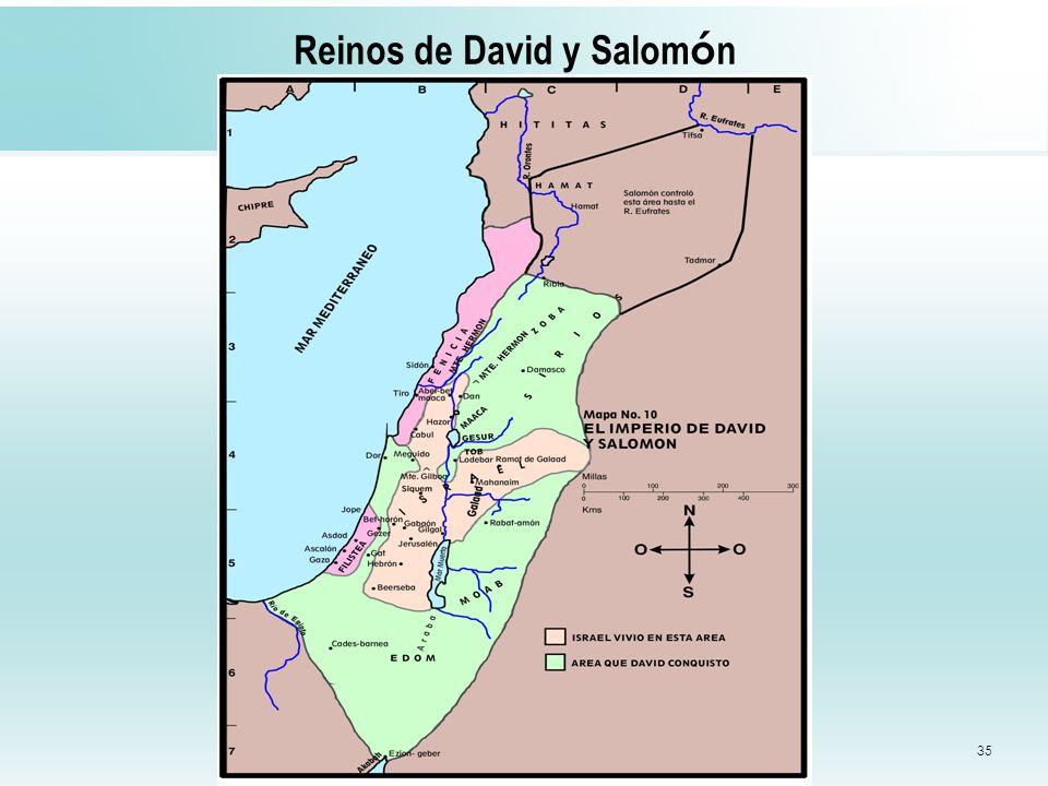 Reinos de David y Salomón