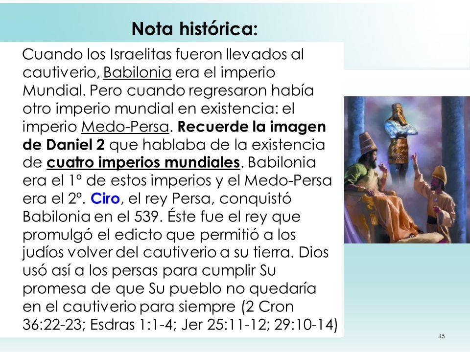 Nota histórica: