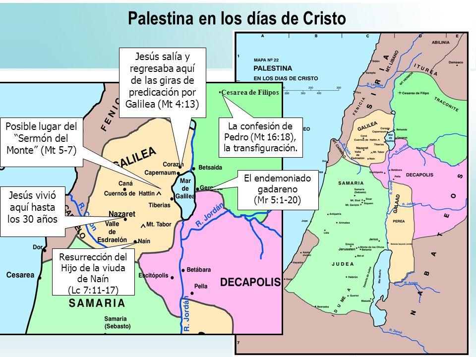 Palestina en los días de Cristo