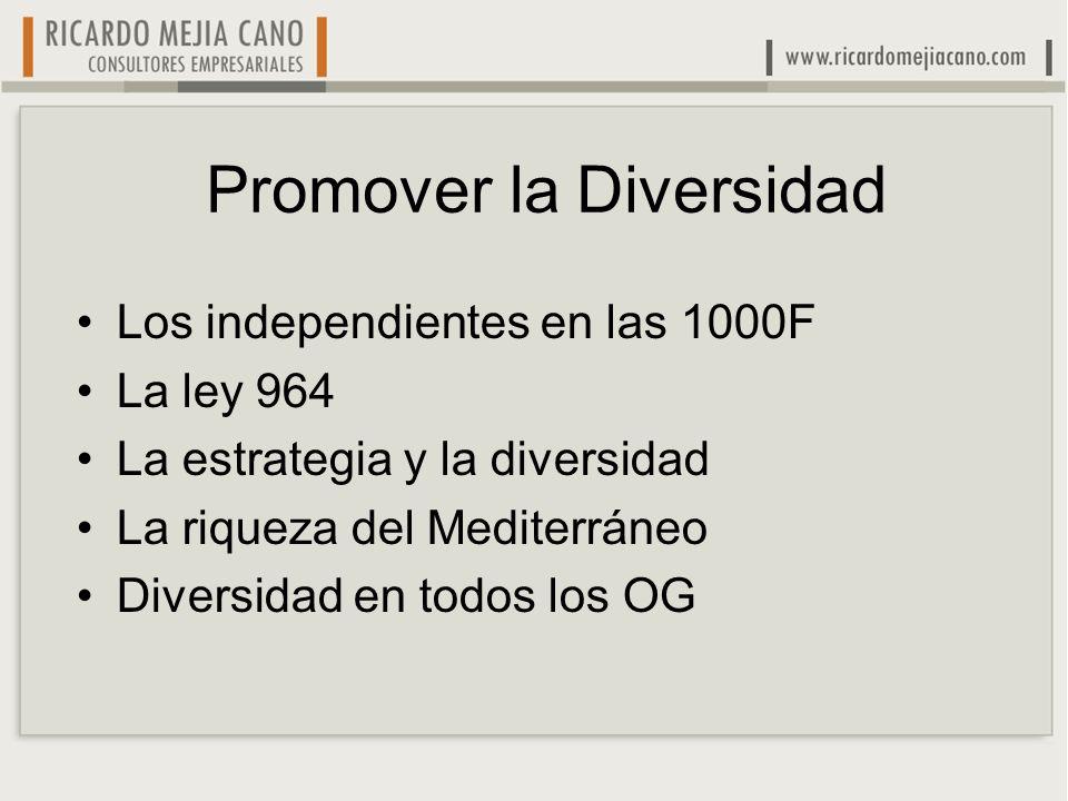 Promover la Diversidad