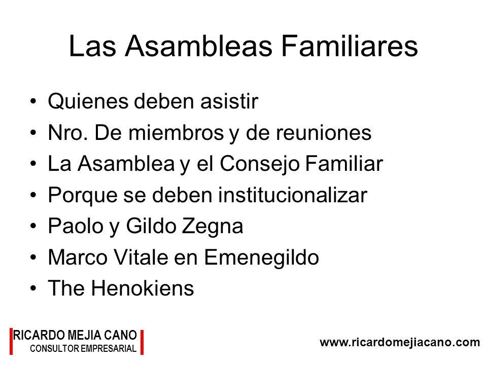 Las Asambleas Familiares