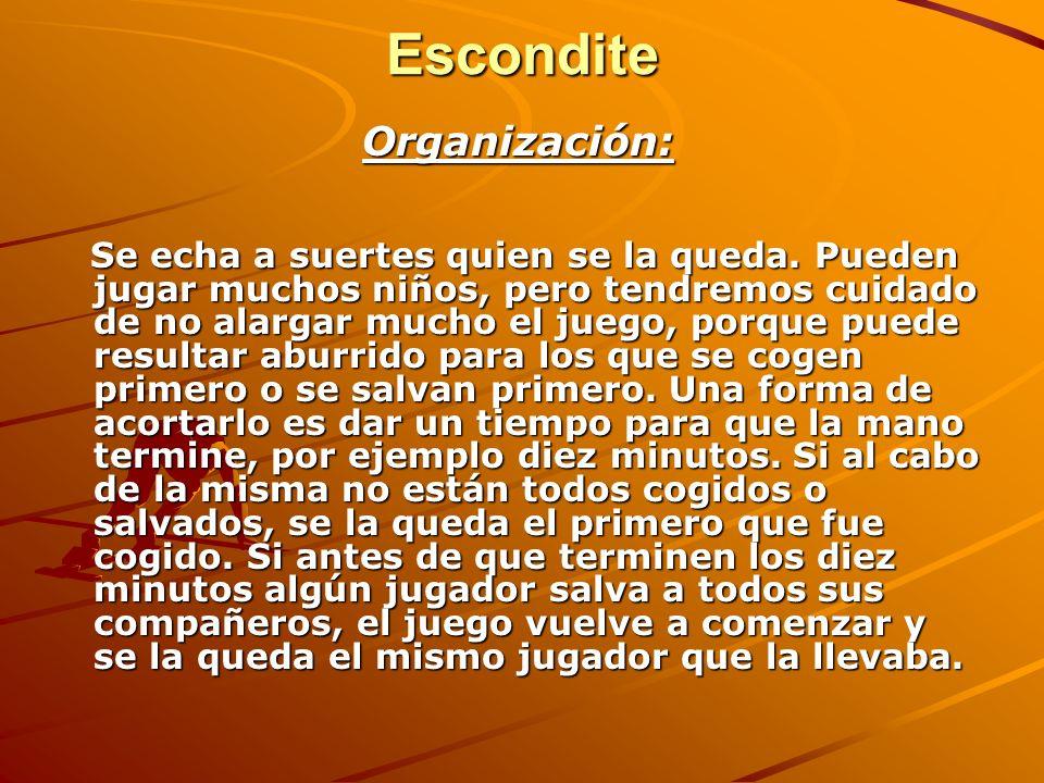 Escondite Organización: