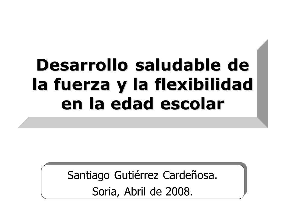 Desarrollo saludable de la fuerza y la flexibilidad en la edad escolar