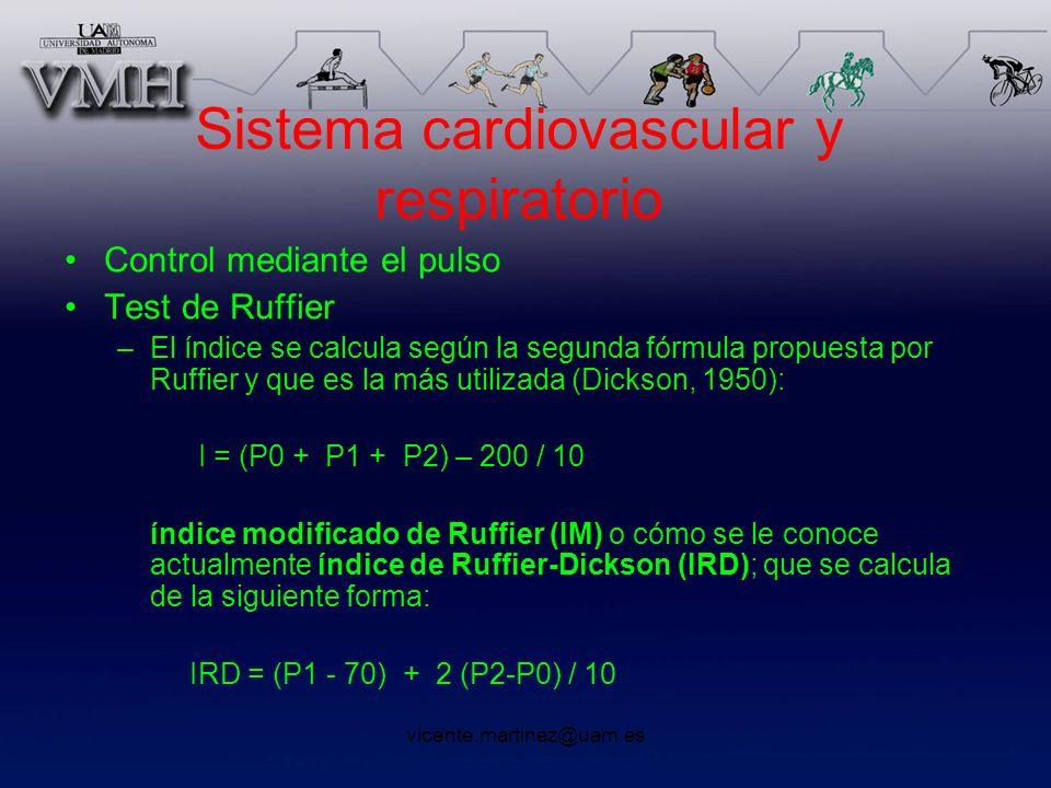 Sistema cardiovascular y respiratorio