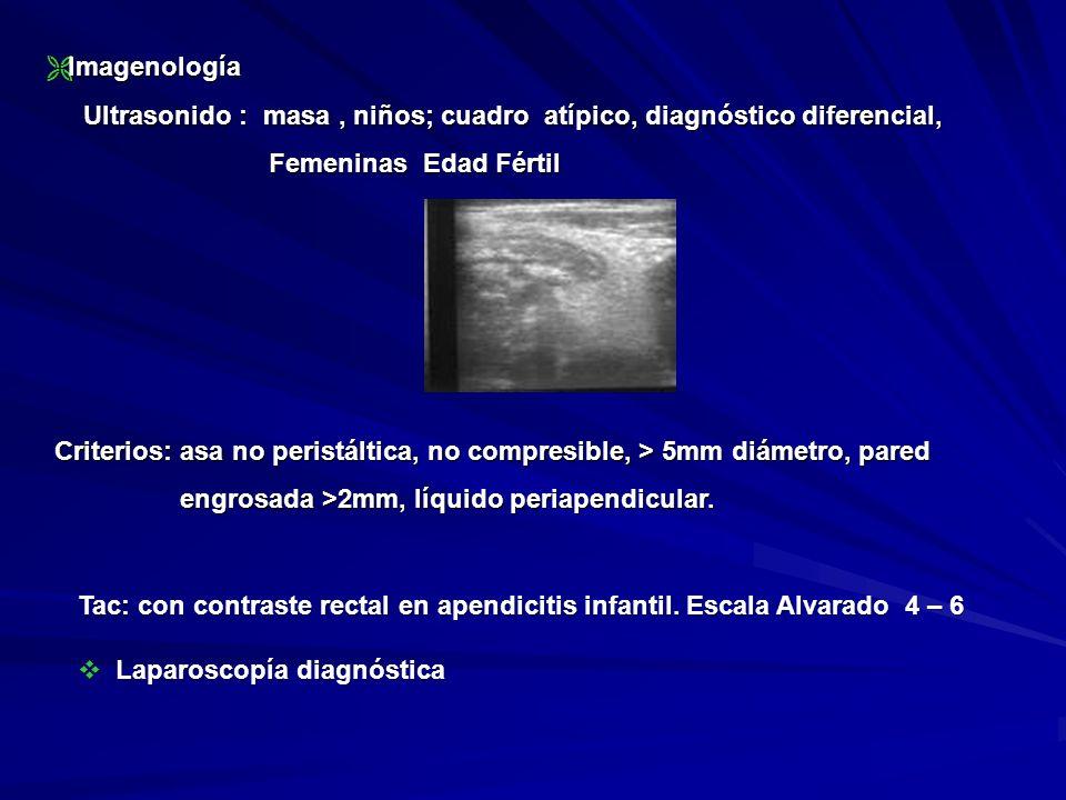 Imagenología Ultrasonido : masa , niños; cuadro atípico, diagnóstico diferencial, Femeninas Edad Fértil.