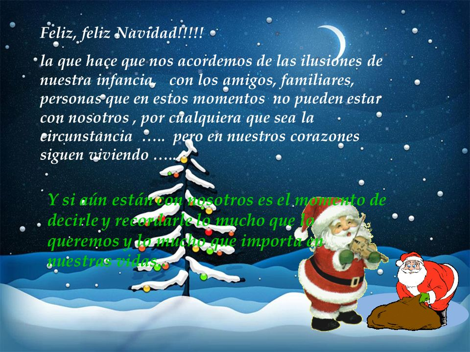 Feliz, feliz Navidad!!!!!