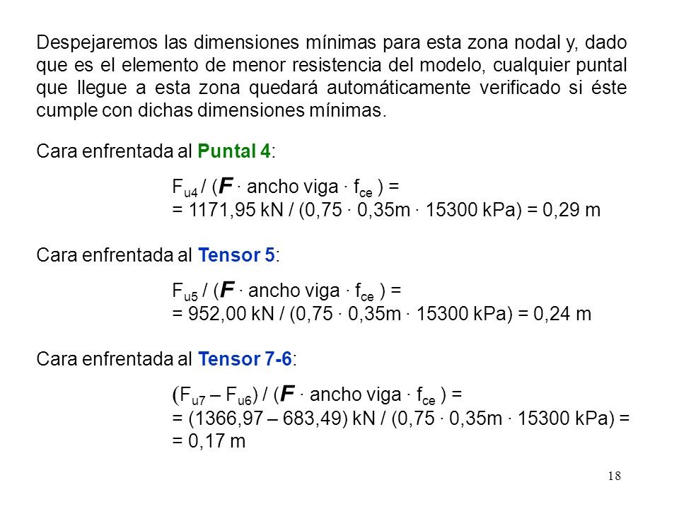 (Fu7 – Fu6) / (F · ancho viga · fce ) =