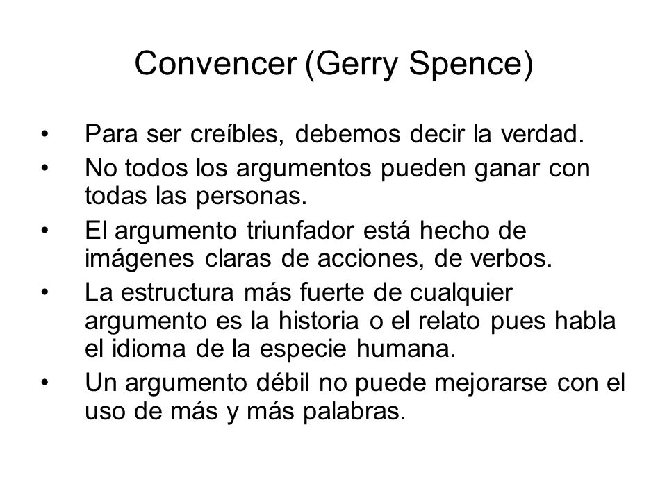 Convencer (Gerry Spence)