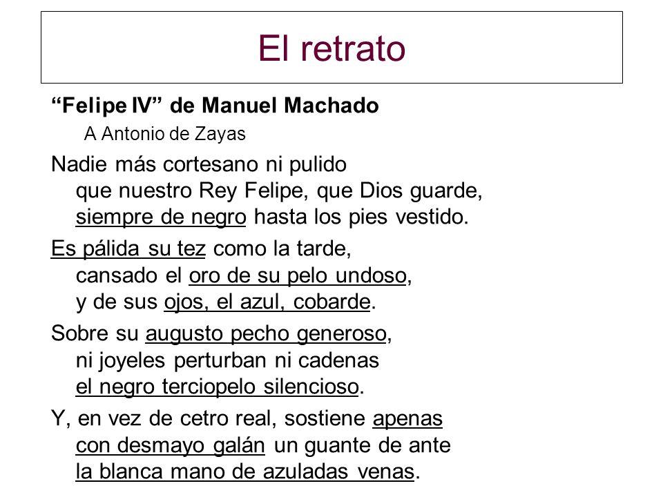 El retrato Felipe IV de Manuel Machado