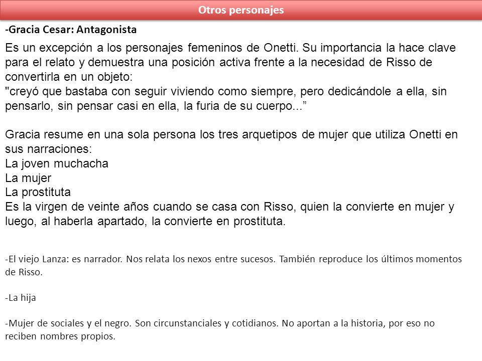 Gracia Cesar: Antagonista