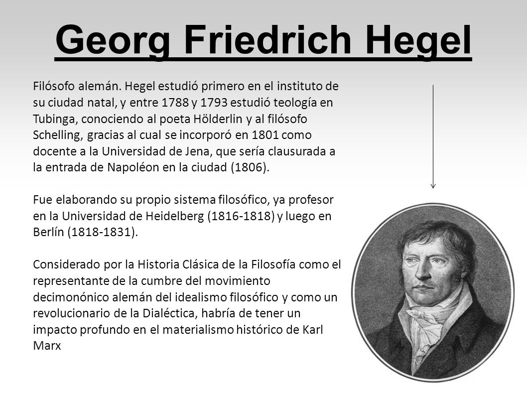 Georg Friedrich Hegel