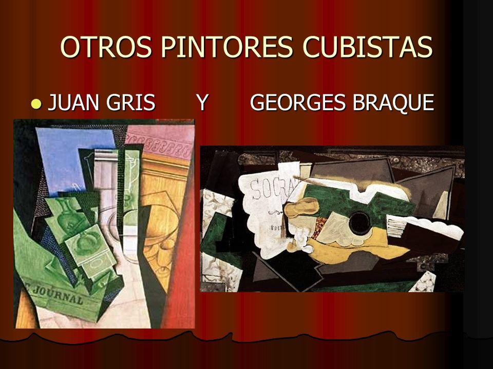 OTROS PINTORES CUBISTAS