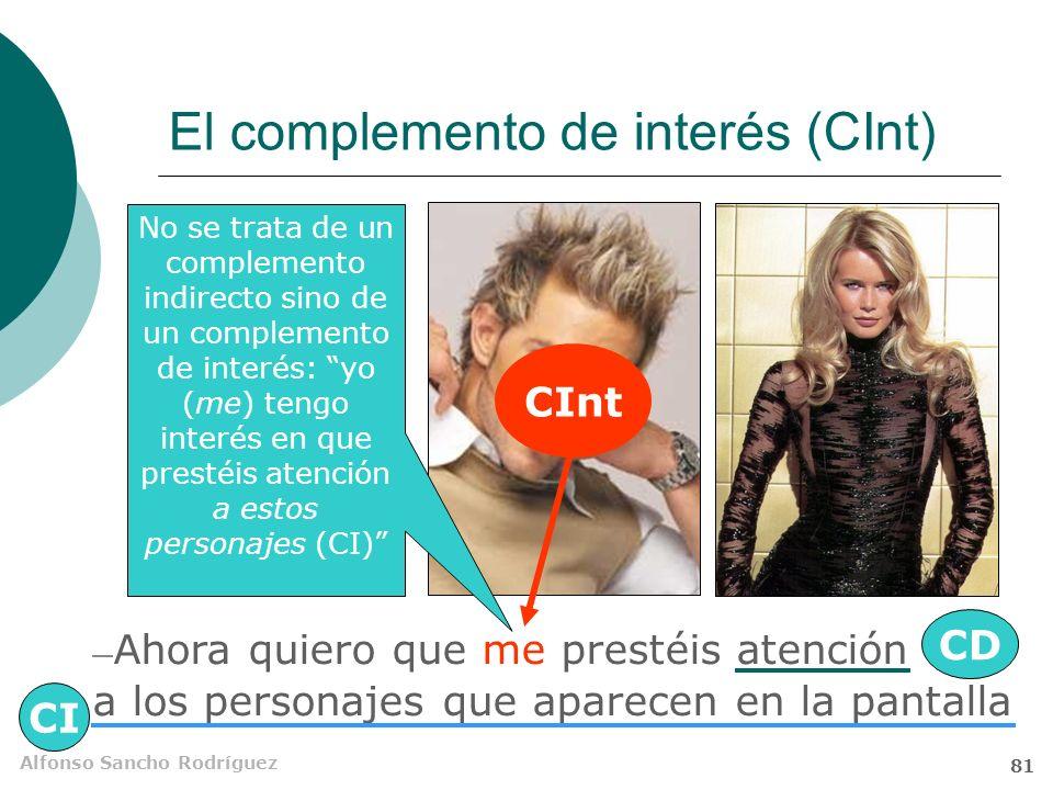 El complemento de interés (CInt)
