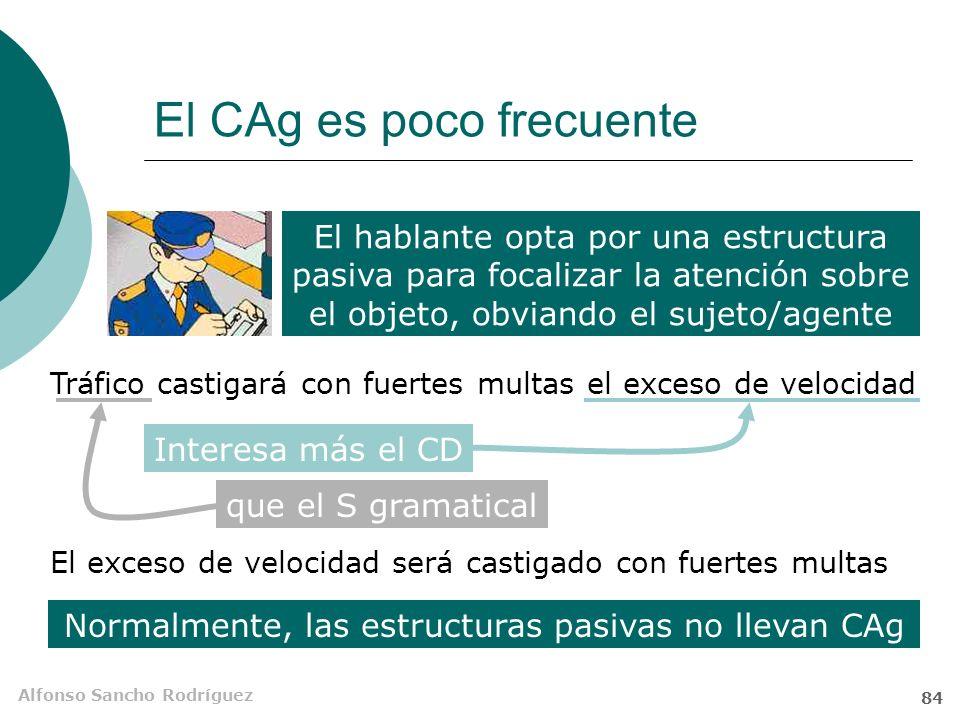 El CAg es poco frecuente