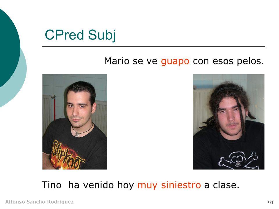 CPred Subj Mario se ve guapo con esos pelos.